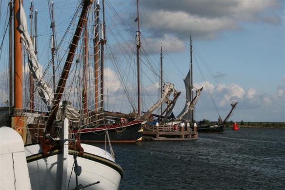 Enkhuizen Harbor.