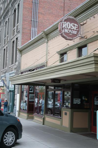 The old Rose Theatre form 1908.
