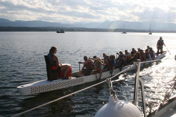 Powerful dragonboat team!!!!