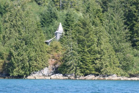 The little church at Queens cove.