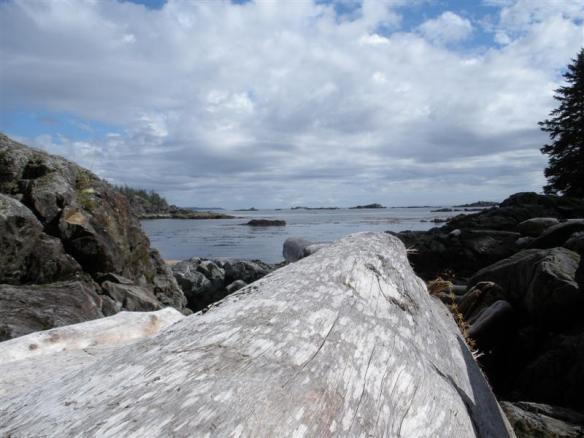 Little beach on Effingham Island