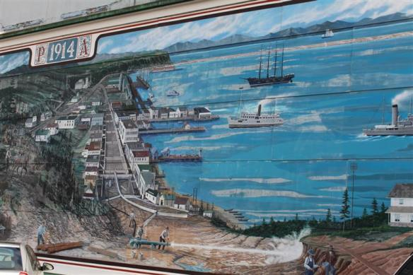 wall mural in port angeles.