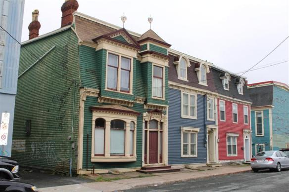 Some of the architecture , most of the old houses are being restored, as they are an important part of st.John's history.