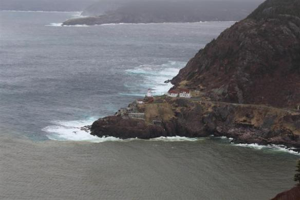 Lighthouse, at the entrance to St.John's harbor.