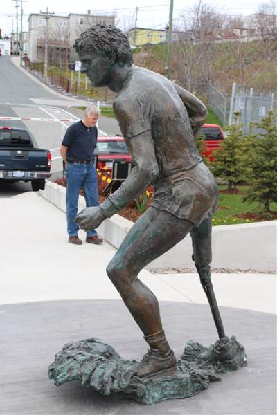 Mile 0,Terry Fox memorial.