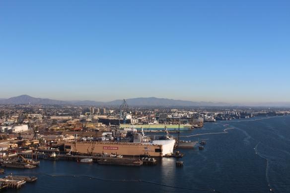 San Diego harbor.