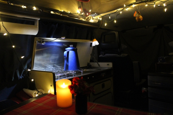 cozy Christmas in the Westy