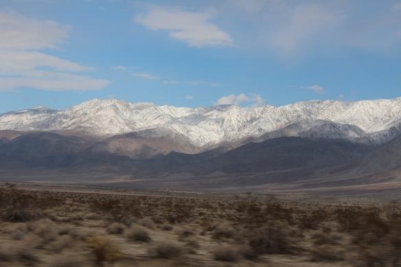 Looking towards Thomas mountain range.