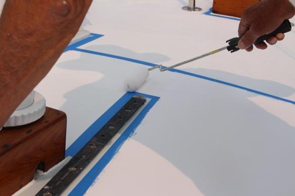 bert painting the deck 003