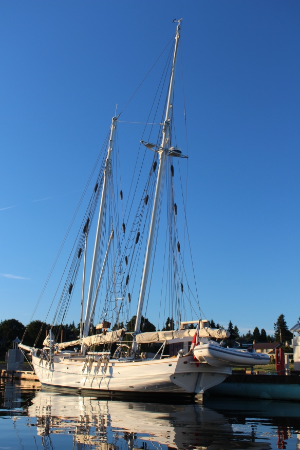 "The ketch: "" JAN VAN GENT"""