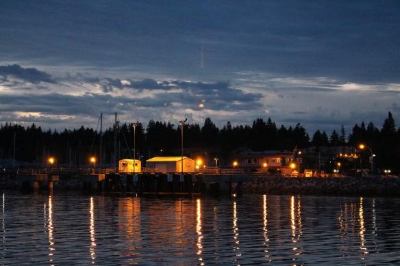 A quiet evening in Comox Harbour.