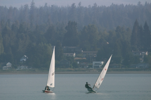 Senior sailors.