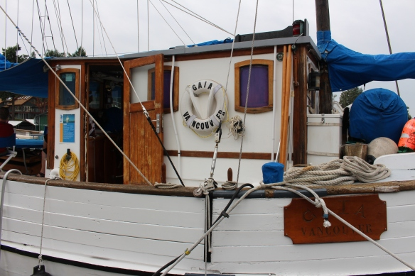 Deckhouse of the SV GAIA