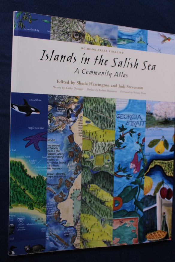 "Front cover of the book: ""Islands of the Salish Sea"""