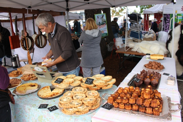 French pastries, the smell at this stand was hard to take!!!