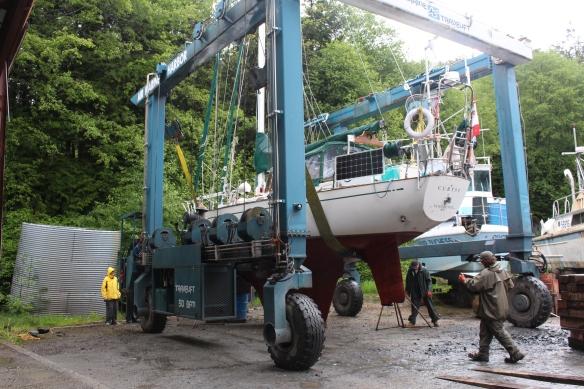 2017 GLACIER BAY haul out Refuge Cove 029