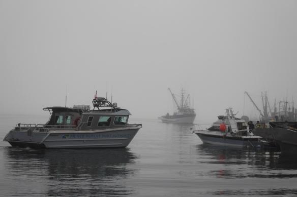 LVN.Kechikan Dundas Island PR Expl. boat cannery Port Edward Kumealon Inlet Hartley bay 052